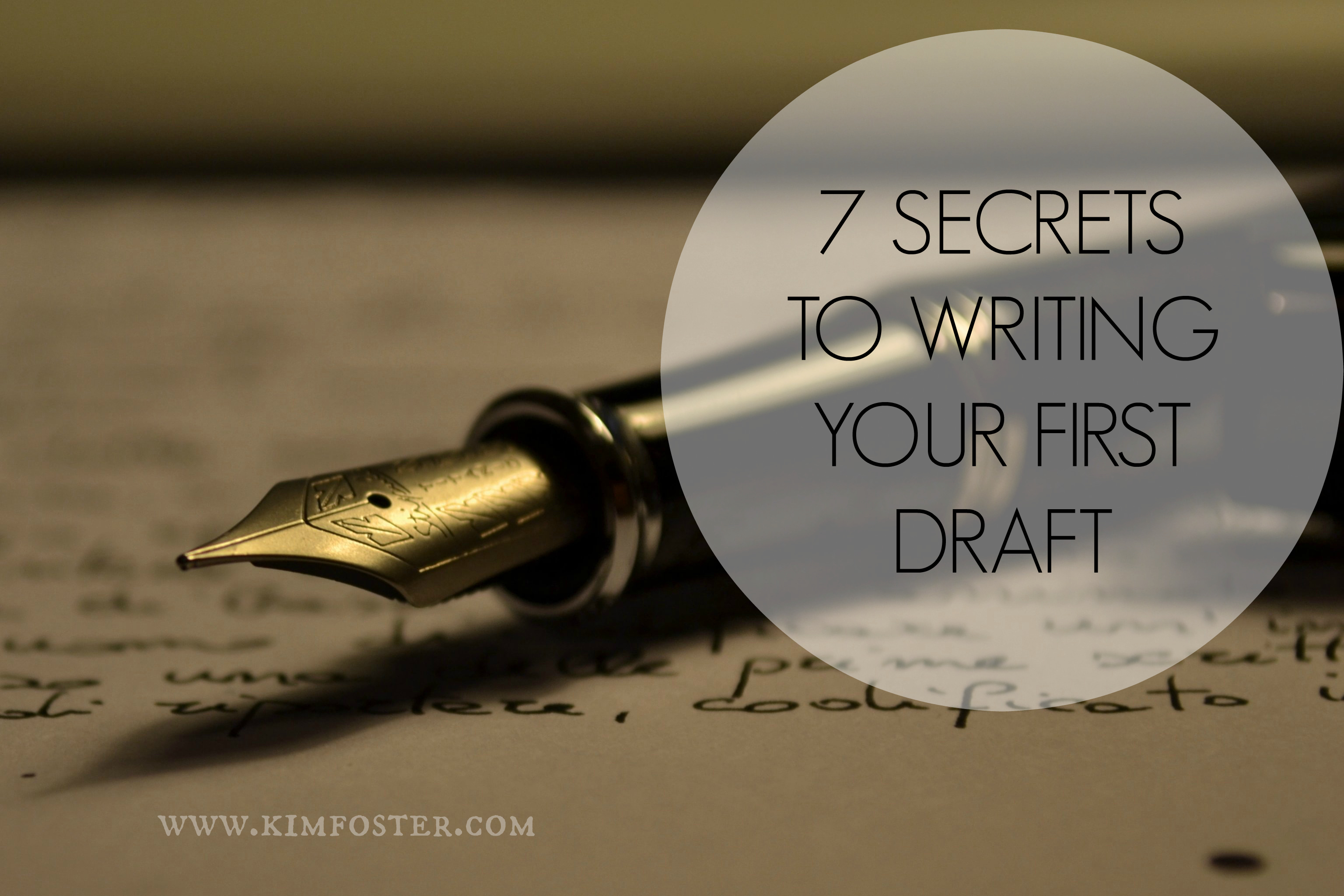 first-drafts