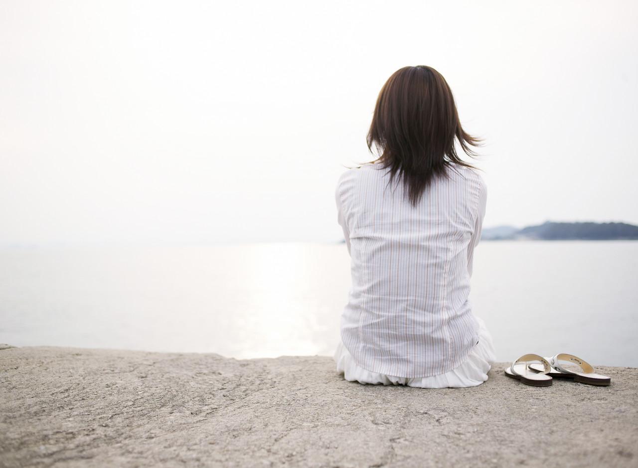 Young Woman Enjoying the View